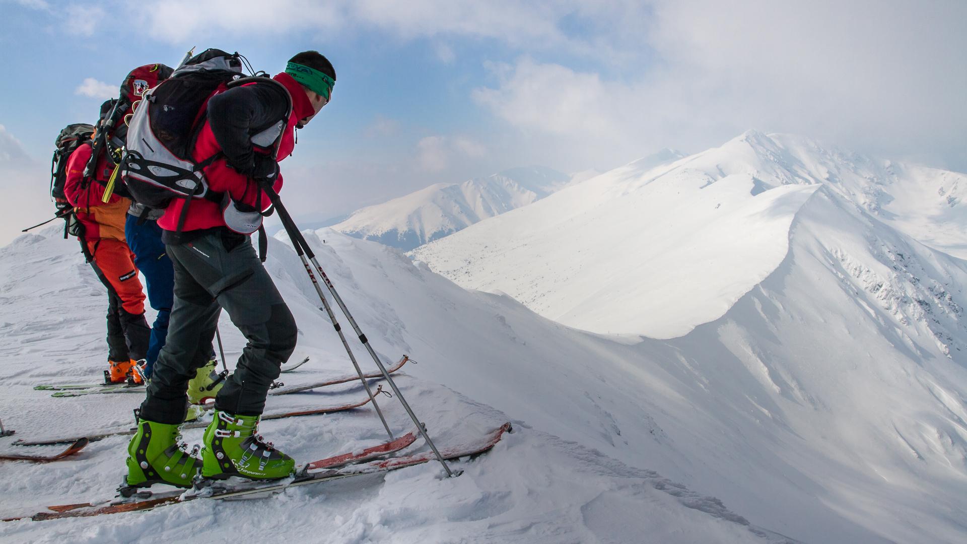 Oboznamovací skialpinistický kurz