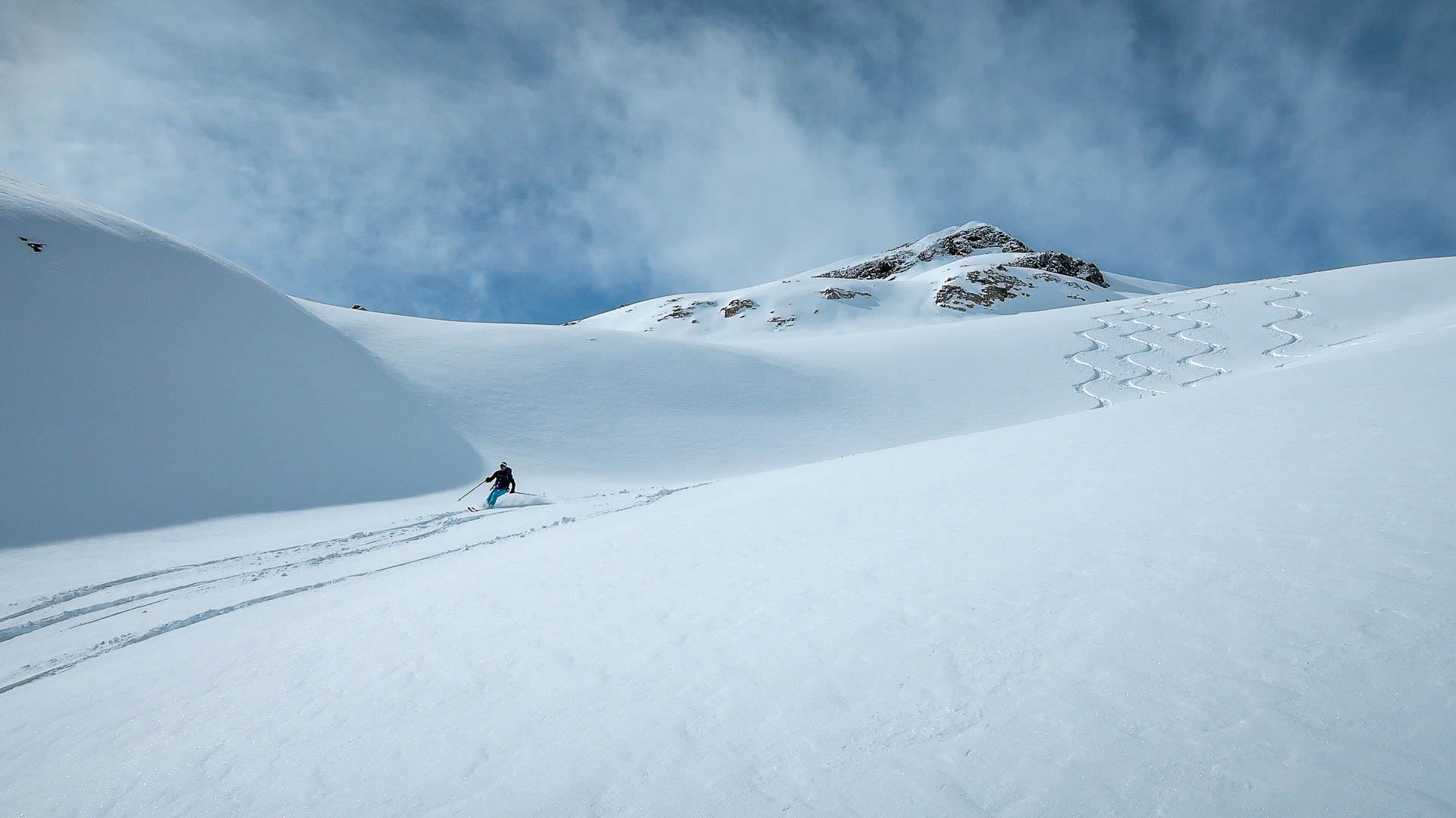 Skialpinizmus s horským vodcom