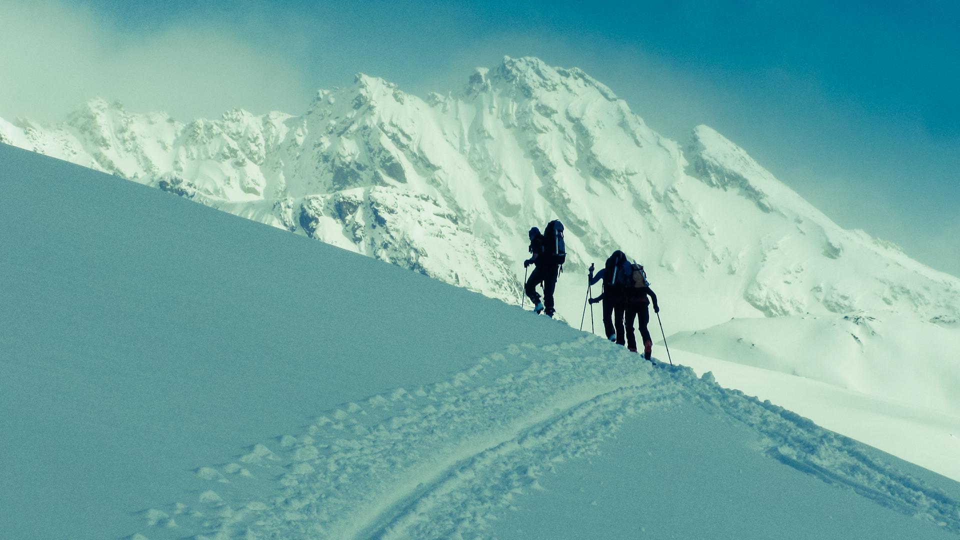 Denné skialpinistické túry