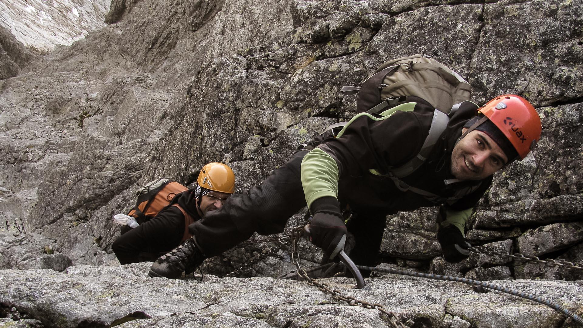 Lomniský štít s horským vodcom