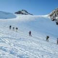 Skialpinistický kurz v alpách