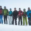 Účastníci lavínového kurzu