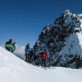 Studeného sedlo (2360m)