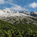 Gerlach pod prvým snehom